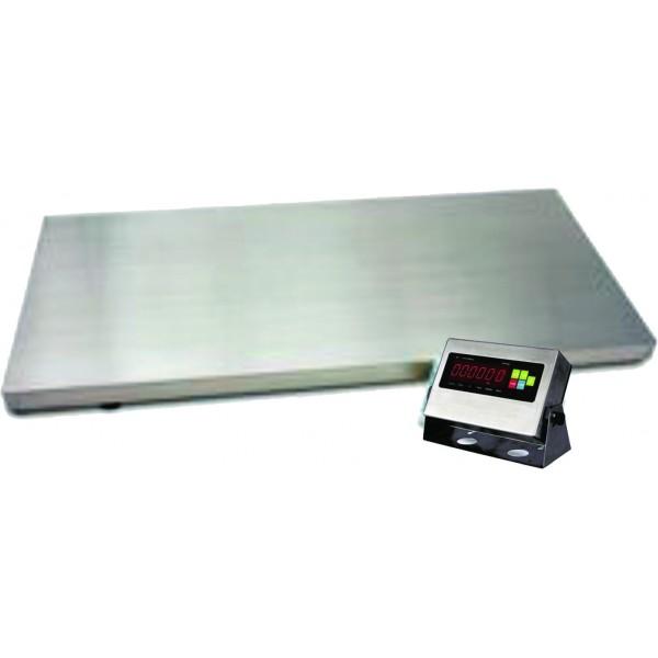Bascula de bajo perfil 2 ton de acero inoxidable 1 x 1 - Perfil acero inoxidable precio ...